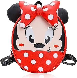 Minnie Mouse school bag Mochila para Niños, útiles Escolares, Regalos para Niños, el Sueño de Disney para Niños, Diseño de Dibujos Animados en 3D Mickey Mouse
