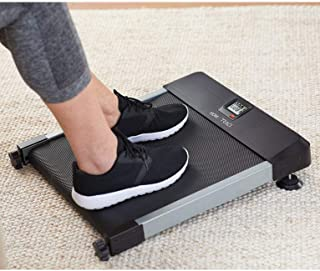 North American Health + Wellness Hometrack Sitting Manual Treadmill - Adjustable Incline Decline – Slim Design, Great for Office & Under Desk Space