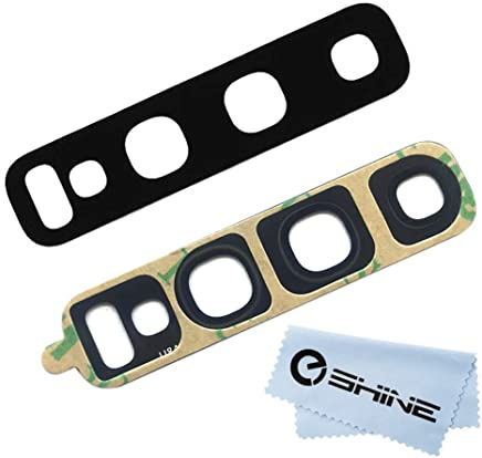 EShine Back Rear Camera Glass Lens Replacement + Adhesive...