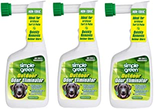 Simple Green Outdoor Odor Eliminator Hose End Sprayer for Pets, 32-Ounce (3 pack)