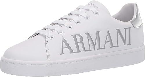 Emporio armani sneaker in pelle uomo X3X061XM085N627