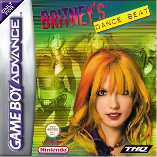 THQ Britney's Dance Beat Basic Game Boy Advance Francese videogioco