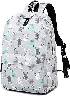 Daypacks Rucksack Retorts Back Wallet Girls High School Student Student Commuter School Lightweight Large Capacity A4 Size Laptop Backpack (Color : Gray)