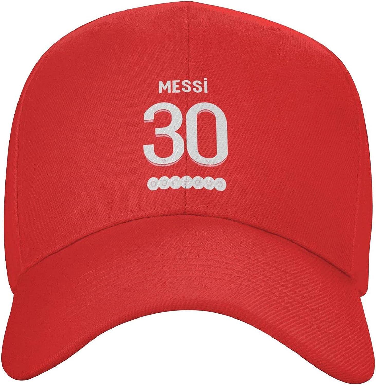 Paris PSG #30 Messi 3D Printing Snapback Baseball Cap Casquette Dad Hat Gift for Men Women