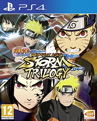 Naruto Shippuden Ultimate Ninja Storm Trilogy PS4 Game
