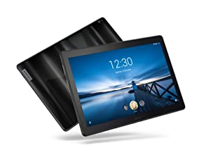 "Lenovo Smart Tab P10 10.1"" Android Tablet, Alexa-Enabled Smart Device with Fingerprint Sensor and Smart Dock Featuring 4 D..."