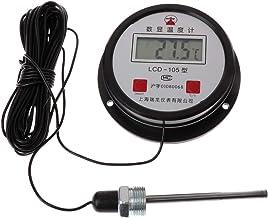 JENOR - Termómetro Digital de Agua Industrial de Alta Temperatura, Cable de 10 m con sonda