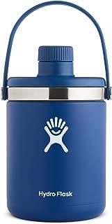 Hydro Flask Oasis Water Jug - Stainless Steel & Vacuum Insulated - Leak Proof Cap - 64 oz, Cobalt