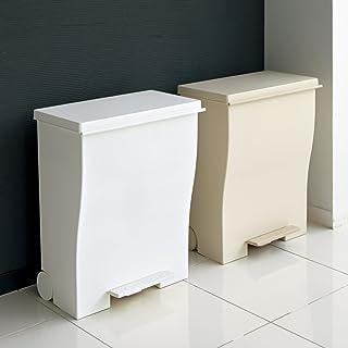 インテリア雑貨 日用品 掃除用品 ゴミ箱 キッチン用ゴミ箱 Kcud クード ダストボックス 容量39L ペールトーンワイド H77022(サイズはありません イ:ベージュ)