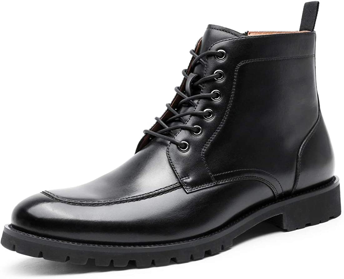 Mens Lace-Up Oxford Moc Toe Las Vegas Mall Leather Casual Classic Dres Business All stores are sold