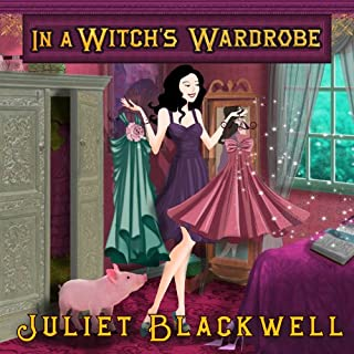 In a Witch's Wardrobe audiobook cover art