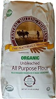 Central Milling Organic All Purpose Unbleached Flour, 160 OZ
