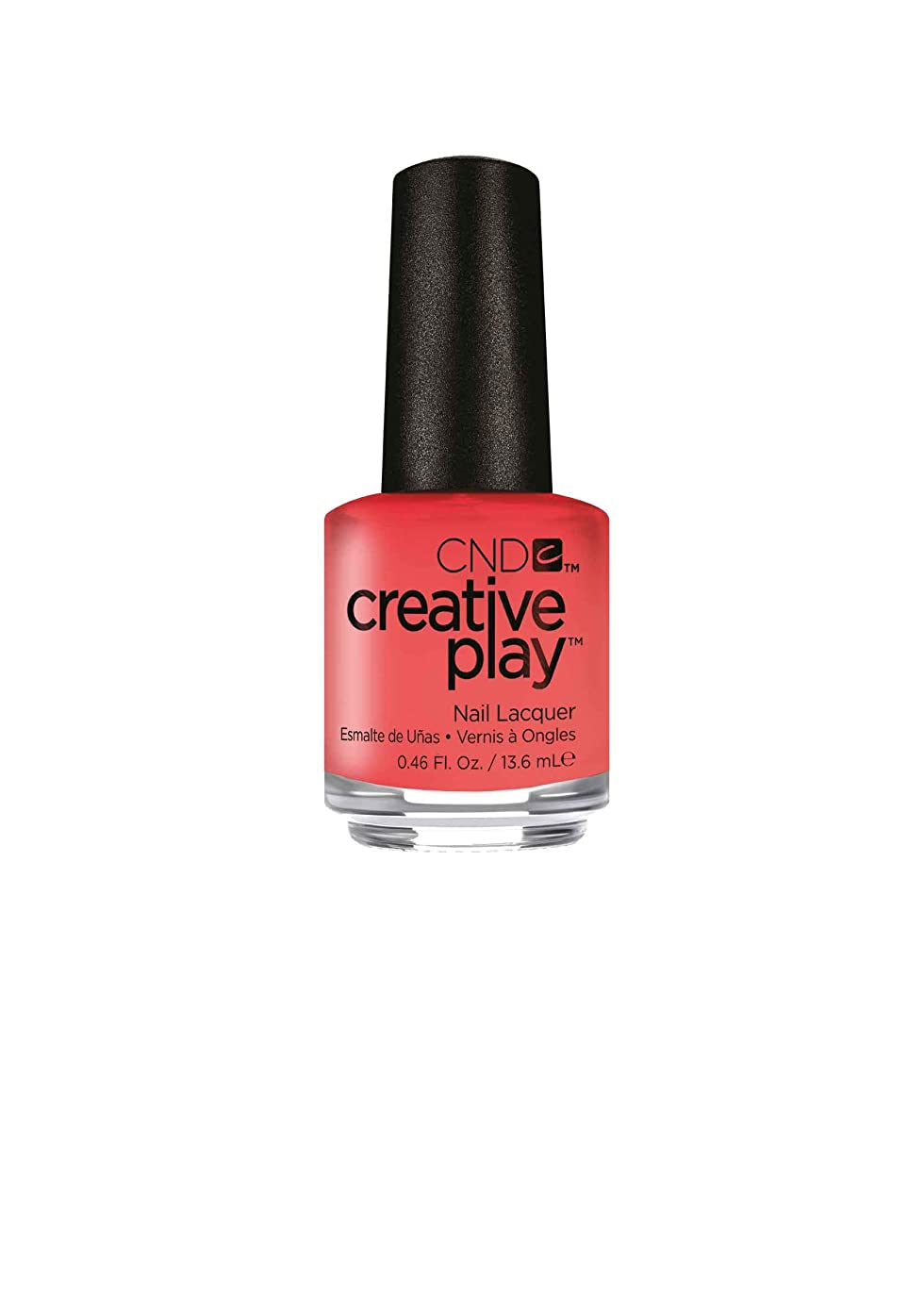 必要最もごめんなさいCND Creative Play Lacquer - Jammin Salmon - 0.46oz / 13.6ml