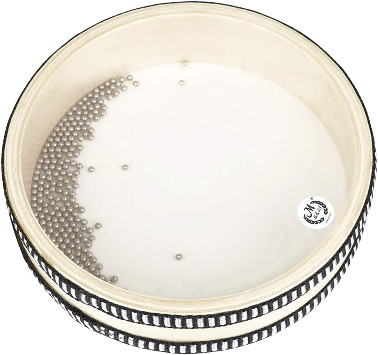 6-inch Transparent Wave Drum Natural Color Limited Special Price Ocean Educ OFFicial mail order Early