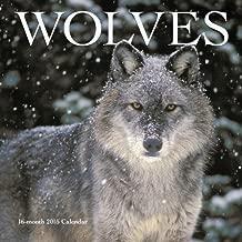 Wolves Wall Calendar 2015