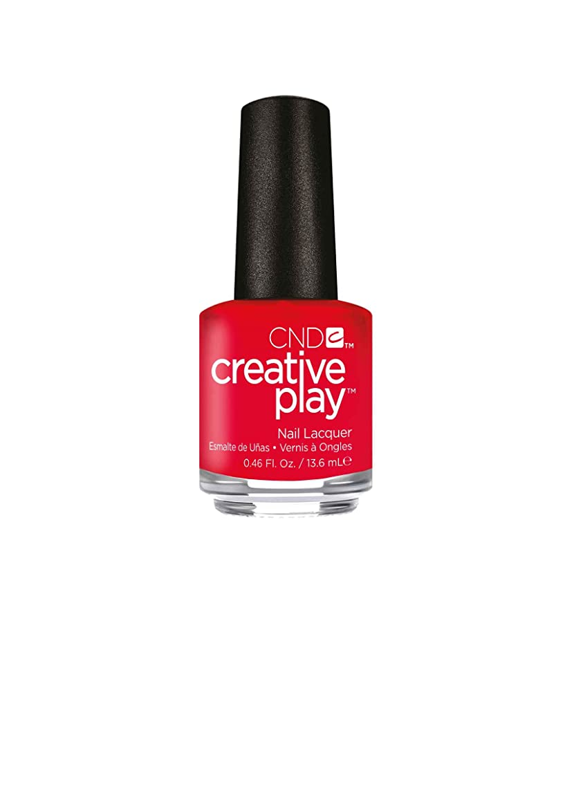 カード好ましい声を出してCND Creative Play Lacquer - Hottie Tomattie - 0.46oz / 13.6ml