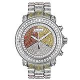 Joe Rodeo Diamond orologio da uomo–Junior Silver 17.25Ctw
