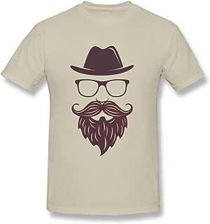 SNOWANG Men's Mr. Beard T-Shirt