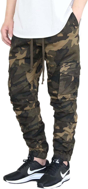 Japan Maker New AIRNINE Men's Sale price Camo Twill Drop S-5XL Crotch Jogger Pants
