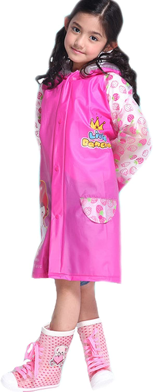 Blue es-uk Kids Boys /& Girls Raincoat Yellow Pink Age 3-9 Years