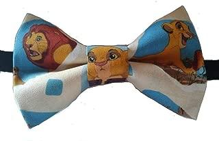 Lion King Hakuna Matata Pretied Bow Tie, Adult