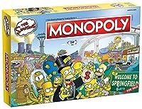 モノポリー ザ・シンプソンズ ボードゲーム | フォックスシリーズ ザ・シンプソンズ | コレクション用シンプソンズ商品 | テーマ付きクラシックモノポリーゲーム