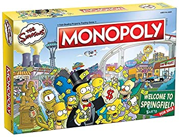 Monopoly The Simpsons Board Game   Based on Fox Series The Simpsons   Collectible Simpsons Merchandise   Themed Classic Monopoly Game
