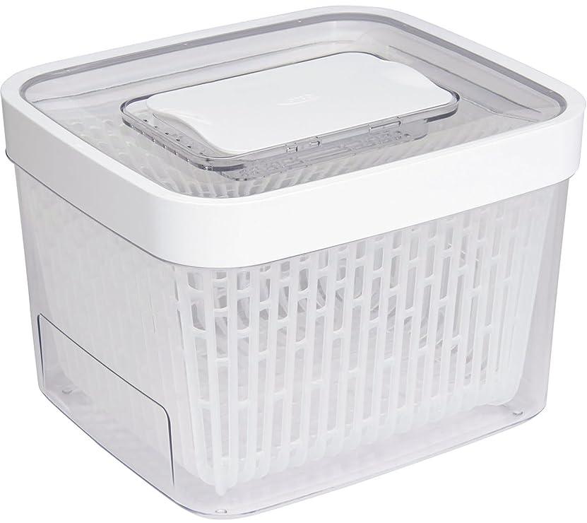 ひも木曜日候補者OXO 野菜保存容器 グリーンセーバー フードキーパー 4.0L 食洗機可能