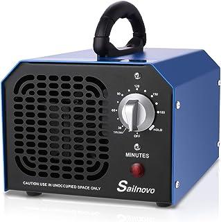 Sailnovo Ozone Generator 6000mg/h Comercial Industrial Purificador de aire Ambientador Esterilizador