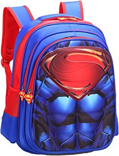 3D Kids Backpack, Cartoon Toddler Bookbags School Bags, Lightweight Durable Kindergarten Middle School Schoolbags, Waterpr...