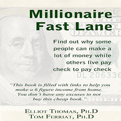 The Millionaire Fast Lane audiobook cover art