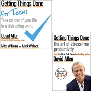 Getting Things Done for Teens, Getting Things Done 2 Books Collection Set