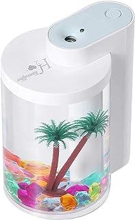 Cute Cool Mist Humidifier Office Bedroom Air Purifier USB Charging Kawaii Air Humidifier with Led Light Air Moisturi. WULE...