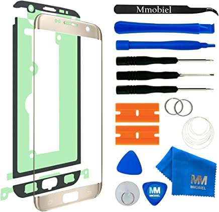 MMOBIEL Kit de Reemplazo de Pantalla Táctil para Samsung Galaxy S7 Edge G935 (Oro) Incluye Kit de Herramientas