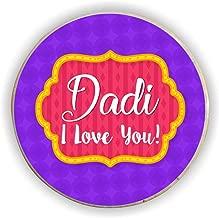 Yaya Cafe for Grandmother Dadi I Love You Fridge Magnet - Round
