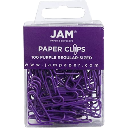 People Shaped Paper Clips 10 Lilac and Green *New*