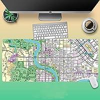 シンプソン大型マウスパッドアニメのマウスパッド 3Dプリント ゲーミングマウスパッド 周辺機器 手首パッ 滑り防天然ゴム無臭