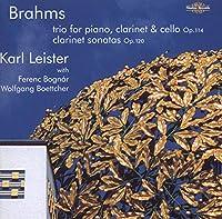 Clarinet Sonatas in F Minor & E-Flat