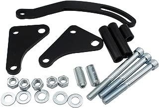 Carrfan Black Power Steering Pump Mounting Bracket for Chevy GM SBC SB Chevy 350