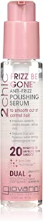 Giovanni 2Chic Anti-Frizz Polishing Serum - Frizz Be Gone Formula with Shea Butter & Sweet Almond Oil 2.75 oz.
