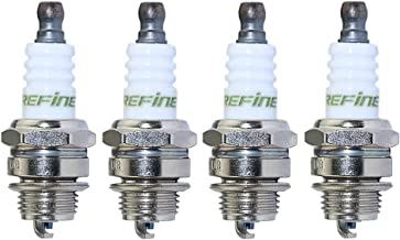 Boeray 4 pcs Replace NGK BPMR7A OEM L7T Standard Spark Plug For Small Engines Husqvarna 43CC 52CC Lawn Mover Trimmer SAWS