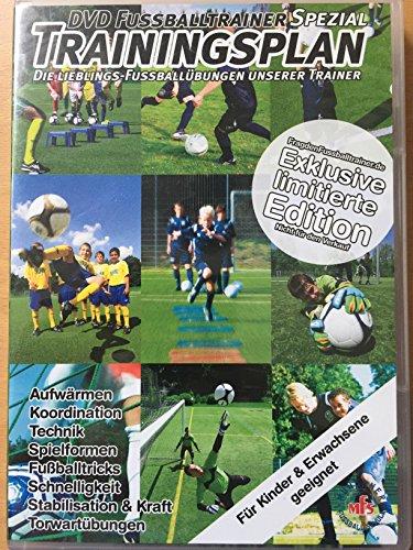 DVD Fussballtrainer Spezial, Trainingsplan
