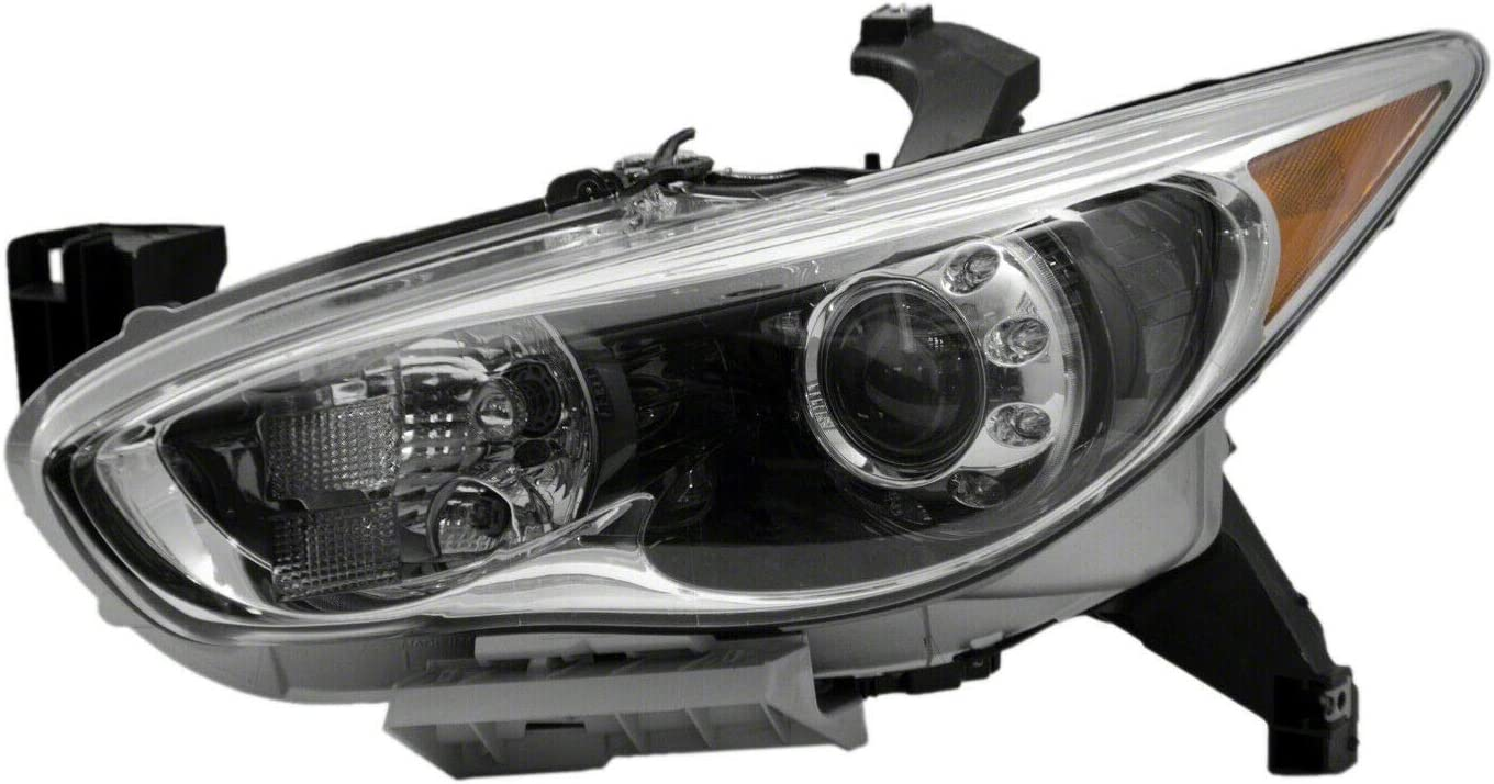 free Left Cheap super special price Driver Side HID Headlight 260603JA0A 201 Assembly IN2502156