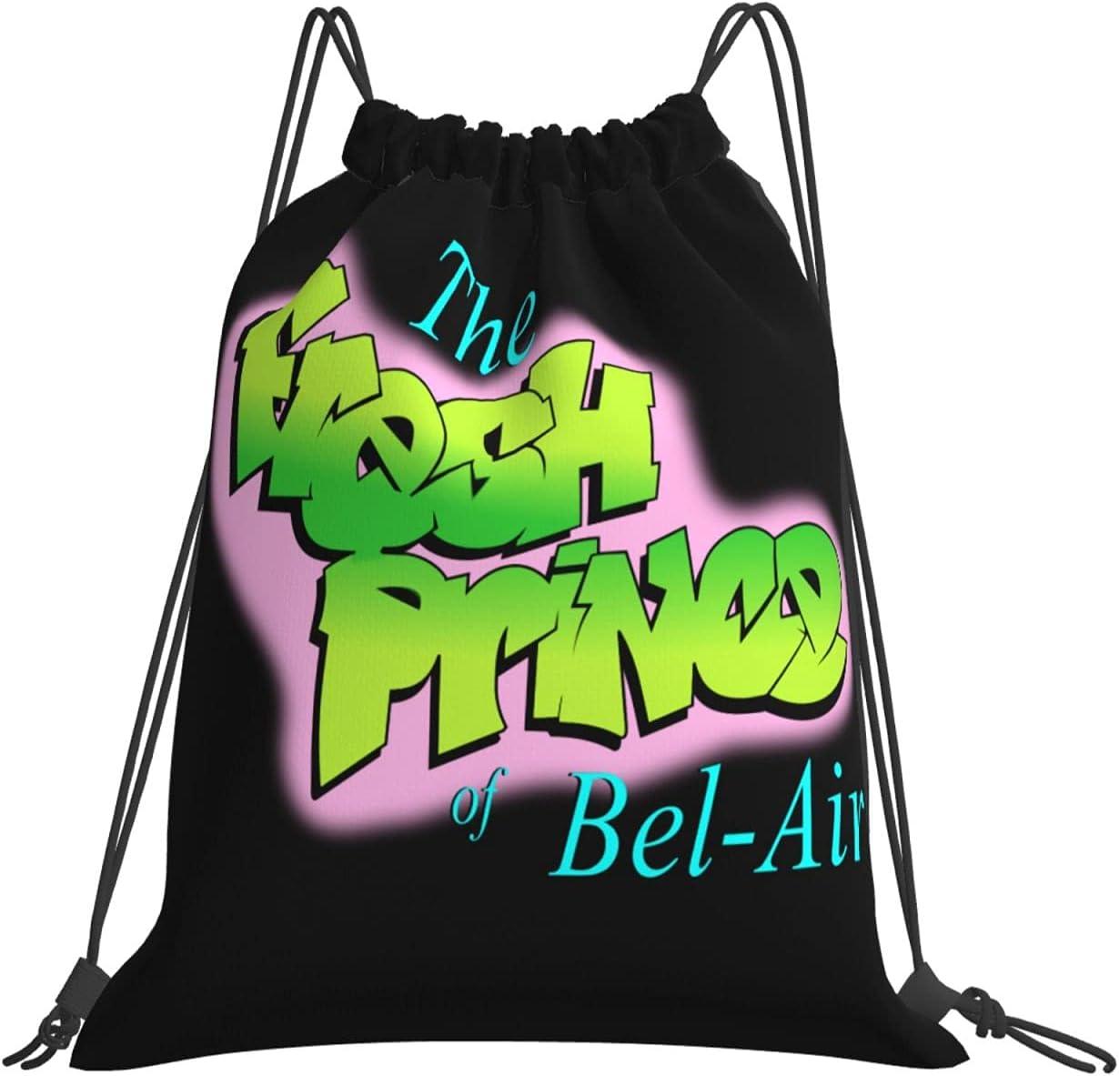 The Fresh Prince Of Bel-Air Drawstring Dye Large Super-cheap Tie Ru Backpack Very popular
