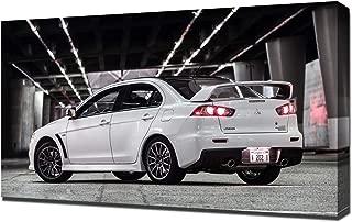 Lilarama USA 2015-Mitsubishi-Lancer-Evolution-X-Final-Edition-V6 Canvas Art Print - Wall Art - Canvas Wrap