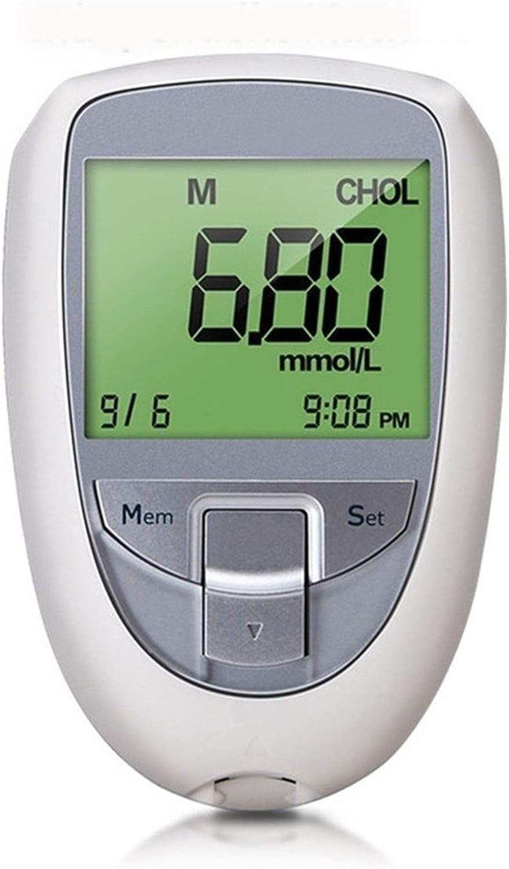 HTTDD 3 in 1 Selling rankings Blood Glucose Household Cholesterol specialty shop Meter Tester U