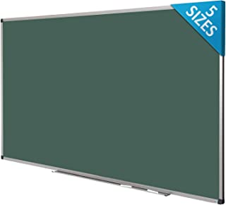 Green Magnetic Chalk Board | Aluminium Framed | Excellent Solution for Art, Notes and Memos | 5 Sizes Available | 36