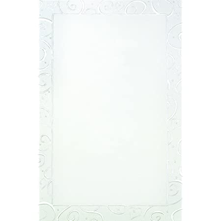 This item has been REDUCED by 50/% DISCOUNT A4 Metallic Beautiful Embossed Ivory Swirl Pearl Italian Paper-Card Making-Wedding-Birthday