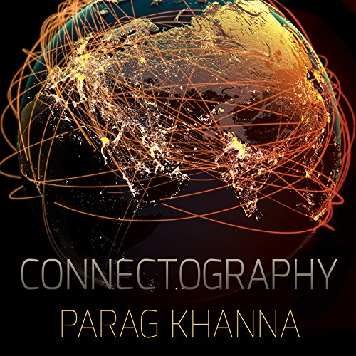 Connectography audiobook cover art