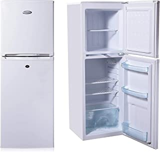 Super General 175 Liter Compact Top-Mount Refrigerator-Freezer/ White/ Defrost/ Wired Shelves/ 1160 x 480 x 530 mm/ SGR175H